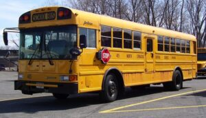 school bus rules of the road